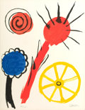 Impressionism & Modernism:Abstraction, ALEXANDER CALDER (American, 1898-1976). Spirals Compositionand Untitled (pair). Lithographs on paper. 26-3/4 x 20-1...(Total: 2 Items)