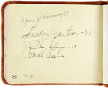 Autographs:Others, 1930's Baseball Autograph Albums Signed by 300+ with Ott, Klein,Len Koenecke....