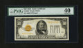 Small Size:Gold Certificates, Fr. 2404 $50 1928 Gold Certificate. PMG Extremely Fine 40.. ...