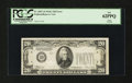Error Notes:Partial Third Printing, Fr. 2057-D $20 1934C Federal Reserve Note. PCGS New 62PPQ.. ...