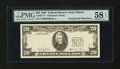 Error Notes:Third Printing on Reverse, Fr. 2077-F $20 1990 Federal Reserve Note. PMG Choice About Unc 58 EPQ.. ...