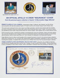 Explorers:Space Exploration, Apollo 14 Mitchell-Signed Official Insurance Cover Originally fromthe Personal Collection of Mission Lunar Module Pilot Edgar...