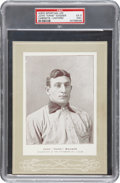 "Baseball Cards:Singles (Pre-1930), 1902-11 W600 Sporting Life John ""Hans"" Wagner Cabinets-Uniform PSAEX 5 (MK)...."