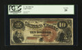 Large Size:Legal Tender Notes, Fr. 100 $10 1880 Legal Tender PCGS Very Fine 20....