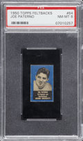 Football Cards:Singles (1950-1959), 1950 Topps Felt Backs Joe Paterno #64 PSA NM-MT 8....