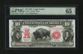 Large Size:Legal Tender Notes, Fr. 121 $10 1901 Legal Tender PMG Gem Uncirculated 65 EPQ....