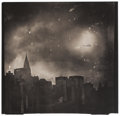 Photographs, JAMES FEE (American, 1949-2006). New York from Brooklyn, Williamsburg, 1995. Platinum. 11-1/2 x 12 inches (29.2 x 30.5 c...