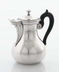 Silver Holloware, Continental:Holloware, A FRENCH SILVER PLATED COFFEE POT. Christofle, Paris, France, circa1920. Marks: CHRISTOFLE, C (scale)G, 30, 31010. ...