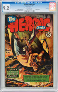Golden Age (1938-1955):Non-Fiction, Heroic Comics #41 File Copy (Eastern Color, 1947) CGC NM- 9.2Off-white pages....