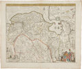 Miscellaneous:Maps, Frederik de Wit. Three Hand-Colored Maps of Germany and theNetherlands, ca. 1670. All maps with original hand coloring, uni...(Total: 3 Items)