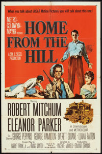 """Home from the Hill (MGM, 1960). One Sheet (27"""" X 41""""). Drama"""