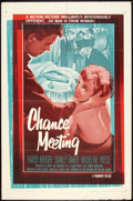 "Movie Posters:Mystery, Chance Meeting (Paramount, 1960). One Sheet (27"" X 41""). Mystery....."
