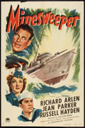 "Movie Posters:War, Minesweeper (Paramount, 1943). One Sheet (27"" X 41"") War.. ..."