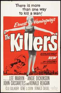 """The Killers (Universal, 1964). One Sheet (27"""" X 41""""). Crime"""