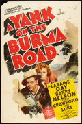 "Movie Posters:War, A Yank on the Burma Road (MGM, 1942). One Sheet (27"" X 41""). War....."