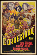 "Movie Posters:War, Corregidor (PRC, 1943). One Sheet (27"" X 41"") and Lobby Cards (2)(11"" X 14""). War.. ... (Total: 3 Items)"