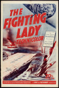 """Movie Posters:War, The Fighting Lady (20th Century Fox, 1944). One Sheet (27"""" X 41"""")and Lobby Card (11"""" X 14""""). War.. ... (Total: 2 Items)"""