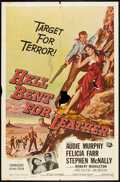 "Movie Posters:Western, Hell Bent for Leather (Universal International, 1960). One Sheet (27"" X 41""). Western.. ..."