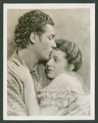 """Janet Gaynor and Charles Farrell in """"Seventh Heaven"""" by Autrey (Fox, 1927). Still (8"""" X 10""""). Romanc..."""
