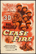 "Movie Posters:War, Cease Fire! (Paramount, 1953). One Sheet (27"" X 41"") 3-D Style. War.. ..."