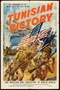 "Movie Posters:War, Tunisian Victory (MGM, 1944). One Sheet (27"" X 41""). War.. ..."