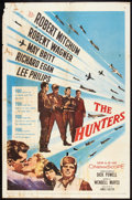 "Movie Posters:War, The Hunters (20th Century Fox, 1958). One Sheet (27"" X 41""). War....."