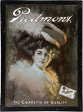 Baseball Collectibles:Others, 1908 Piedmont Tobacco Advertising Sign....
