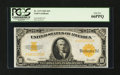 Large Size:Gold Certificates, Fr. 1173 $10 1922 Gold Certificate PCGS Gem New 66PPQ....
