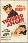 "Movie Posters:War, Thunder Afloat (MGM, 1939). One Sheet (27"" X 41"") Style D. War....."