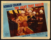 """The Light That Failed (Paramount, 1939). Lobby Cards (3) (11"""" X 14""""). Drama. ... (Total: 3 Items)"""