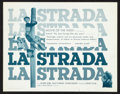 """Movie Posters:Drama, La Strada (Trans Lux, 1956). Title Lobby Card and Lobby Card (11"""" X 14""""). Drama.. ... (Total: 2 Items)"""