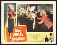"""One Girl's Confession Lot (Columbia, 1953). Lobby Cards (8) (11"""" X 14""""). Bad Girl. ... (Total: 8 Items)"""