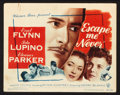 """Movie Posters:Drama, Escape Me Never (Warner Brothers, 1948). Lobby Card Set of 8 (11"""" X 14""""). Drama.. ... (Total: 8 Items)"""