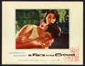 """Movie Posters:Drama, A Face in the Crowd Lot (Warner Brothers, 1957). Title Lobby Card and Lobby Cards (4) (11"""" X 14""""). Drama.. ... (Total: 5 Items)"""