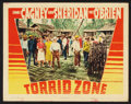 "Movie Posters:Adventure, Torrid Zone Lot (Warner Brothers, 1940). Lobby Cards (6) (11"" X14""). Adventure.. ... (Total: 6 Items)"