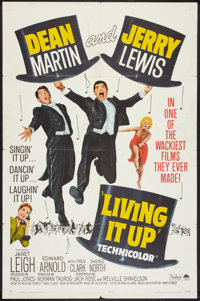 """Living It Up (Paramount, R-1965). One Sheet (27"""" X 41""""). Comedy"""