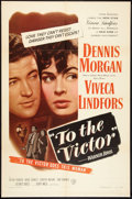 """Movie Posters:Drama, To the Victor (Warner Brothers, 1948). One Sheet (27"""" X 41""""). Drama.. ..."""