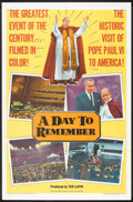 "Movie Posters:Documentary, A Day to Remember (Allied Artists, 1965). One Sheet (27"" X 41""). Documentary.. ..."