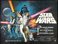 """Movie Posters:Science Fiction, Star Wars (20th Century Fox, 1977). British Quad (30"""" X 40"""") Style C. Science Fiction.. ..."""