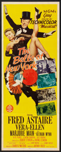 """Movie Posters:Musical, The Belle of New York (MGM, 1952). Insert (14"""" X 36""""). Musical.. ..."""