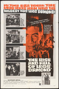 """Movie Posters:Crime, The Rise and Fall of 'Legs' Diamond (Warner Brothers, 1960). One Sheet (27"""" X 41""""). Crime.. ..."""