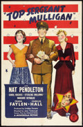 """Movie Posters:Comedy, Top Sergeant Mulligan (Monogram, 1941). One Sheet (27"""" X 41""""). Comedy.. ..."""