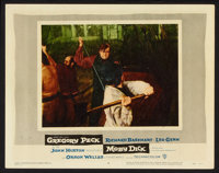 """Moby Dick Lot (Warner Brothers, 1956). Lobby Cards (2) (11"""" X 14""""). Adventure. ... (Total: 2 Items)"""