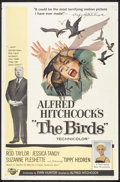 """Movie Posters:Hitchcock, The Birds (Universal, 1963). One Sheet (27"""" X 41""""). Hitchcock.. ..."""