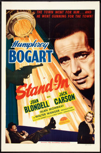 """Stand-In (Masterpiece Productions, R-1948). One Sheet (27"""" X 41""""). Comedy"""