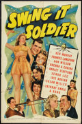 "Movie Posters:Comedy, Swing It Soldier (Universal, 1941). One Sheet (27"" X 41""). Comedy.. ..."
