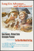 "Movie Posters:Adventure, The Man Who Would Be King (Columbia, 1975). One Sheet (27"" X 41"")Flat Folded. Adventure.. ..."
