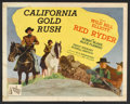 "Movie Posters:Western, California Gold Rush (Republic, 1946). Half Sheet (22"" X 28"") StyleA. Western.. ..."