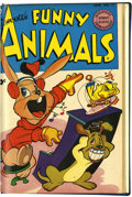 Golden Age (1938-1955):Funny Animal, Fawcett's Funny Animals #69-71 Bound Volume (Fawcett, 1951)....