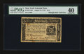 Colonial Notes:New York, New York August 13, 1776 $1/2 PMG Extremely Fine 40....